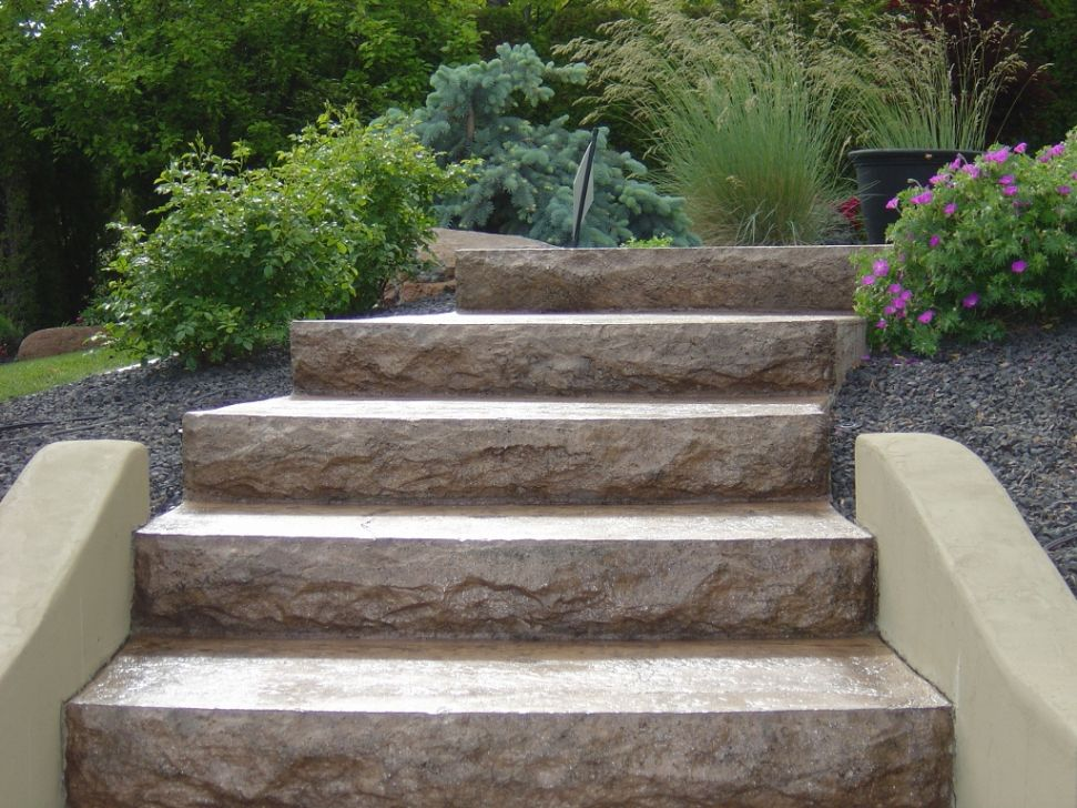 Concrete Stairs | LC Valley Concrete